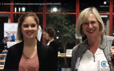Video-Rückblick auf den CSR-Kommunikationskongress 2017
